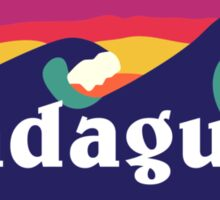 Pradagucci waves Sticker