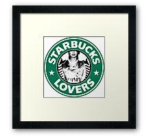 Starbucks Lovers Taylor Swift 1989 Framed Print