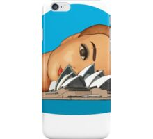 head of the opera iPhone Case/Skin