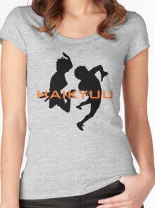HAIKYUU!  Women's Fitted Scoop T-Shirt