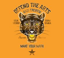 DEFEND THE ARTS PANTHER Unisex T-Shirt