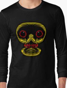 Look me in the eyes! - skull tee Long Sleeve T-Shirt