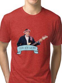 John McVie is a Legend In His Own Mind Tri-blend T-Shirt