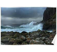 Easdale in a Storm Poster