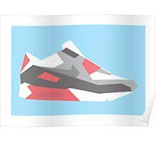 AF90 - Minimal Sneaker Poster