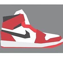 AJ1 - Minimal Sneaker by lomoco