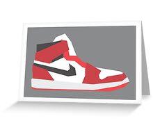 AJ1 - Minimal Sneaker Greeting Card