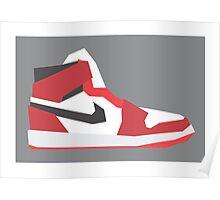 AJ1 - Minimal Sneaker Poster