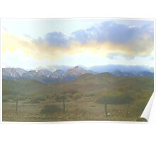 LP Peak cold clouds Poster