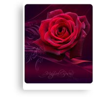 Magical Roses CALENDAR 2009 Canvas Print