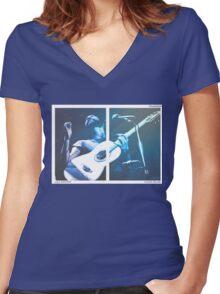 Cat Stevens / Yusuf Women's Fitted V-Neck T-Shirt
