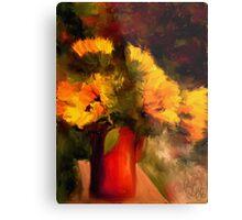 Sunflower Harvest /Homage to Van Gogh Metal Print