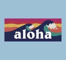 Aloha - waves Kids Clothes