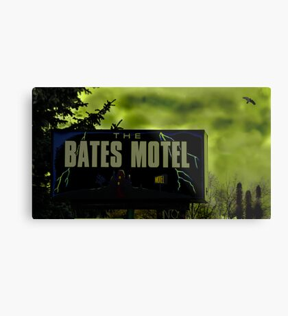 Bate's Motel Metal Print