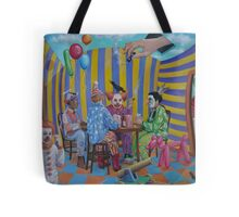 The Card Players Tote Bag