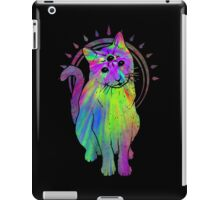 Psychic Psychedelic Cat iPad Case/Skin