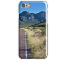 Texas Road iPhone Case/Skin