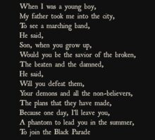 Welcome to the Black Parade by doyouevenfandom