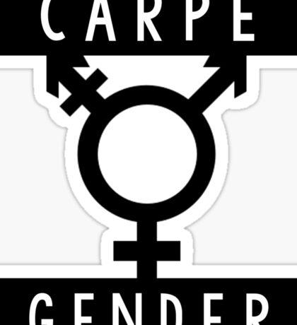 Carpe Gender Sticker