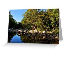 Mossman river, far north Queensland Greeting Card