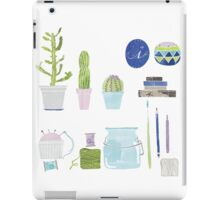 Cactus in my studio iPad Case/Skin