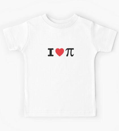 I Heart Pi Kids Tee