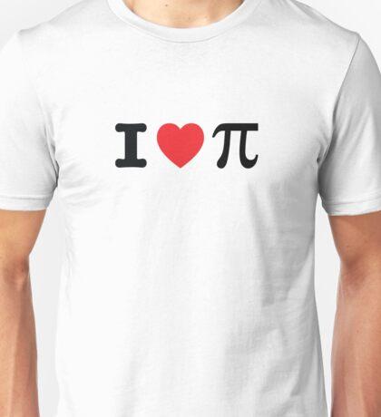 I Heart Pi Unisex T-Shirt