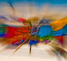 Sarong Explosion by Peter Denness