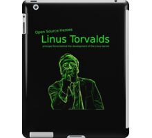 Linux Open Source Heroes - Linus Torvalds iPad Case/Skin
