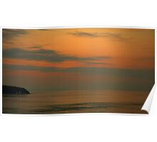 Campbell River Sunset Poster