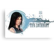 Tifa Portrait Canvas Print