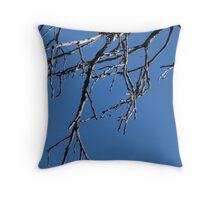 Dangling Wood Throw Pillow