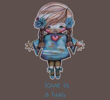 Love is a Hug Tshirt Kids Clothes