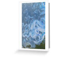 Dynamic Earth Ocean Currents Greeting Card