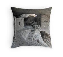 Gila Cliff Dwelling Throw Pillow