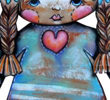 Love is a BIG hug Tee Sticker