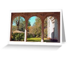 From the Portico Greeting Card