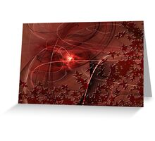 Chocolate and Cherry-Fall Mix Greeting Card