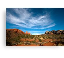 Sky and Earth  Canvas Print