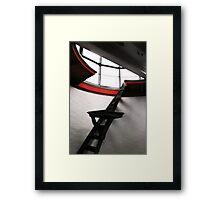 Fresnel Climb Framed Print
