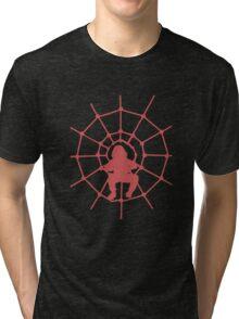 Web silhouette Tri-blend T-Shirt