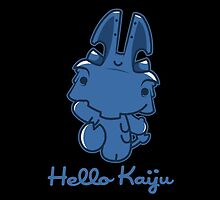 Hello Kaiju! by DemonigoteTees