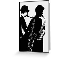 In The Groove Greeting Card