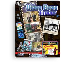 Video Game Trader #32 (Spring 2015) Cover  Canvas Print