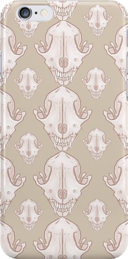Fox Skull Pattern by BrittanyPurcell