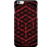 Tesseract & Flower of Life  iPhone Case/Skin