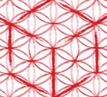 Tesseract & Flower of Life  Sticker