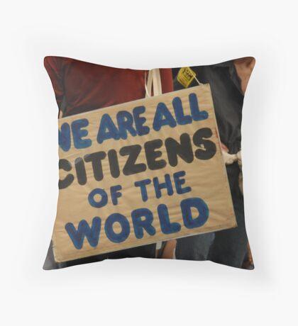 Citizens Throw Pillow