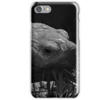 Giant tortoise grazing - photograph iPhone Case/Skin