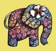 Tattoo Elephant TShirt Kids Clothes